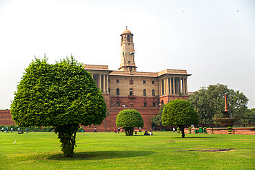 Indian Government buildings, New Delhi, India, Asia