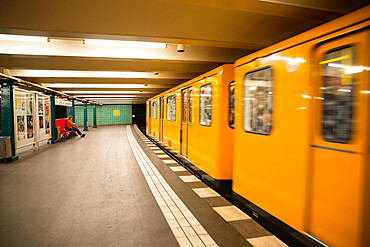 Berlin U-Bahn underground train
