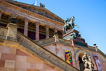 Alte Nationalgalerie (Old National Gallery), Berlin, Germany, Europe