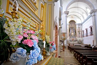 Igreja Matriz Nossa Senhora dos Remédios (First Church of Our Lady of the Remedies) is the largest church in Paraty, Rio de Janeiro State, Brazil