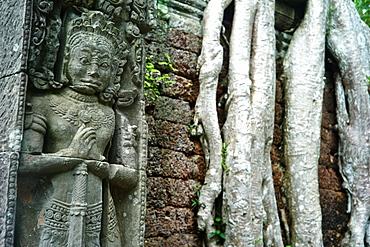 Ancient ruins of Preah Khan Temple, Angkor, Siem Reap, Cambodia
