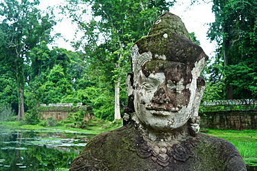 Ancient ruins of Ta Prohm Temple, Angkor, Siem Reap, Cambodia