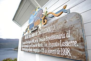 San Juan the Salvamento Lighthouse, Isla de Los Estados (Staten Island), Tierra del Fuego, Argentina