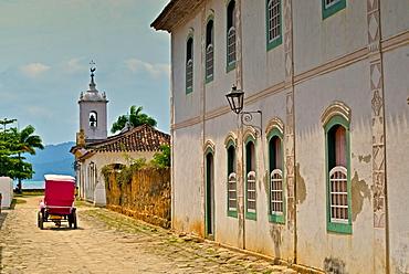 Capela de Nossa Senhora das Dores (Chapel of Our Lady of Sorrows), Paraty, Rio de Janeiro State, Brazil