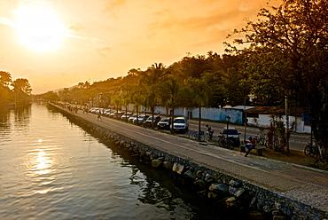 Perequê-Áçu River in, Paraty, Rio de Janeiro State, Brazil