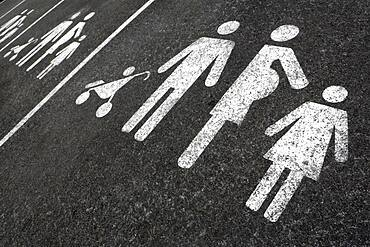 Parking space for large family.