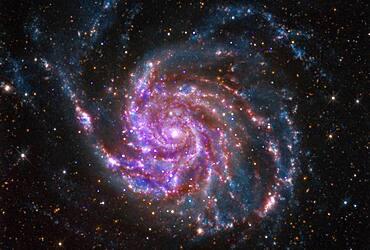 Pinwheel Galaxy, M101, NGC 5457, Composite