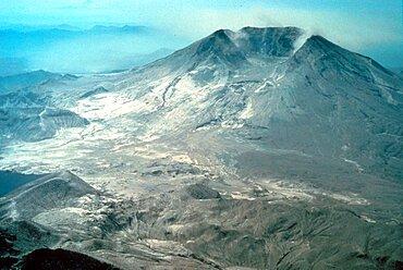 Mount St. Helens After Eruption