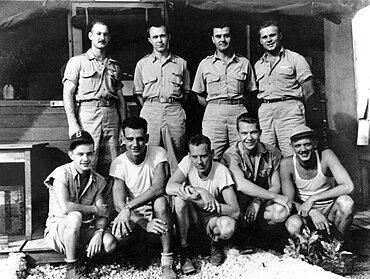 WWII, Enola Gay Crew, 1945