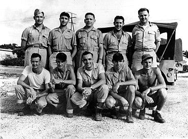 WWWII, Bockscar Crew, Nagasaki Mission, 1945