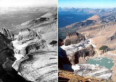 Grinnell Glacier, Glacier NP, 1938/1981