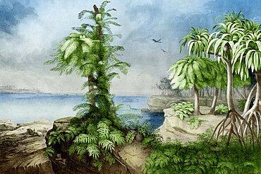 Prehistoric, Jurassic Landscape