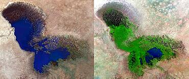 Lake Chad, 1973 and 2013