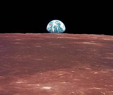 Apollo 11, Earthrise, 1969