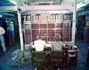 MANIAC-I, Vacuum Tube Computer, 1952