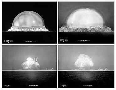 Trinity Test, 1945