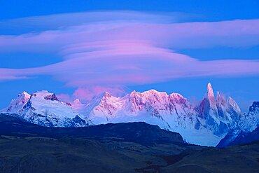 Lenticular at Dawn, Argentina