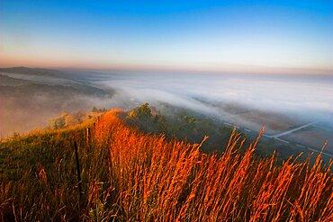Loess Hills Morning Fog