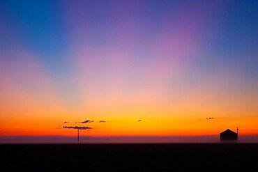 Ashfall Sunrise