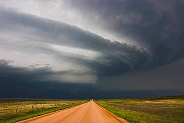 Colorado Supercell with Beaver Tail