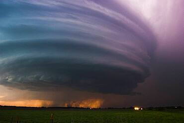 Nebraska Twilight Supercell