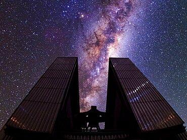 Milky Way over New Technology Telescope
