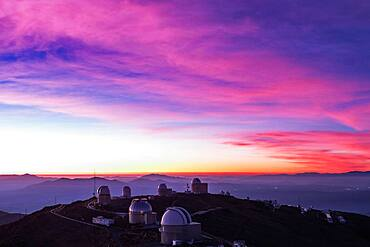Twilight, La Silla Observatory, Chile