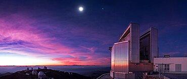 Twilight over La Silla Observatory