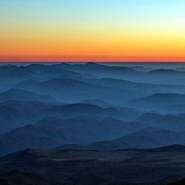 Sunset over the La Silla Observatory