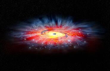 Sagittarius A*, Illustration