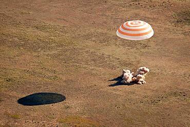 Soyuz TMA-20 Landing