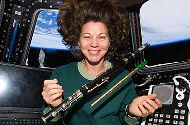 Flutes in Space at the ISS