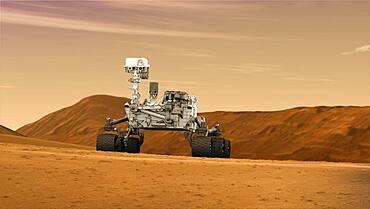 Mars Rover 'Curiosity,' Artist's Rendering
