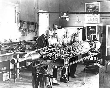 Goddard Rocket with Turbopumps, 1940