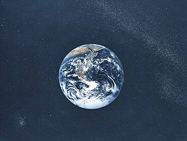 Apollo 17, Earth from Space, 1972