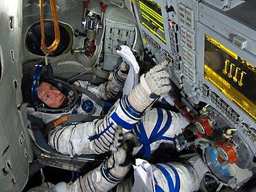 Timothy Peake, Astronaut Training, 2010