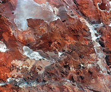 Volcanic Terrain of Central Andes