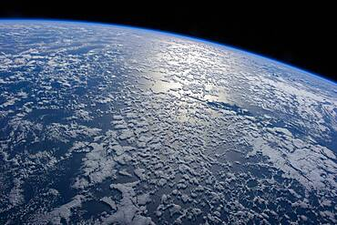 Oceanic Earth from the ISS