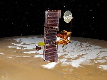 Mars Odyssey Spacecraft