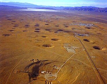 Nevada Test Site Atom Bomb Craters