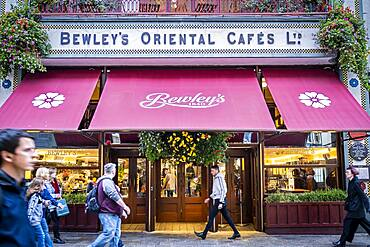 Bewley's Cafe Theatre, in Grafton Street, Dublind, Ireland