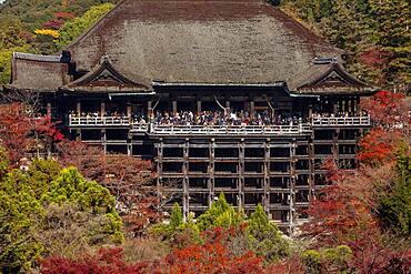 Kiyomizu-dera temple, Kyoto. Kansai, Japan.