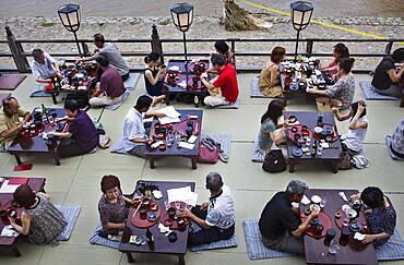 Izumoya restaurant,Pontocho dori 173-2,Kyoto. Kansai, Japan.
