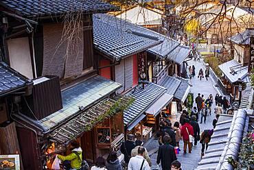 Nineizaka street, Gion district, Kyoto, Japan.