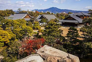 Nijo castle,UNESCO World Heritage Site,Kyoto, Japan.