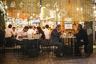 Izakaya, restaurant, in Ameyoko market Street.Tokyo city, Japan, Asia