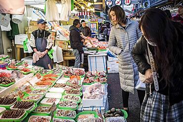 Ameyoko market Street.Tokyo .Japan