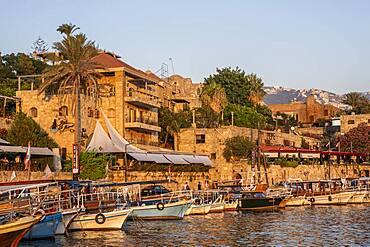 Port, harbour, Byblos, Lebanon