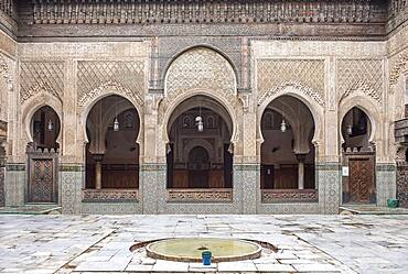 Medersa or Madrasa Bou Inania, Fez el Bali, Fez, Morocco