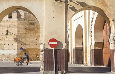 Bab Makina, Fez El Jedid, Morocco